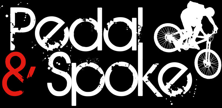 Pedal and Spoke Retina Logo